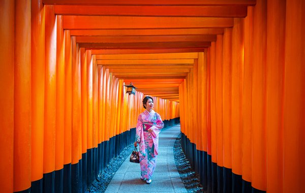 Asia Japan Fushimi Inari Shrine