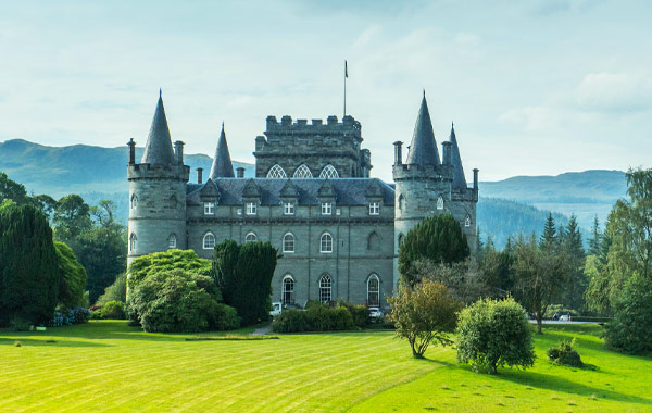 Europe Scotland Edinburgh Highlands Inveraray Castle 2