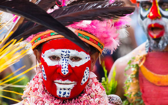 Papua New Guinea and the Mount Hagen Sing Sing Festival