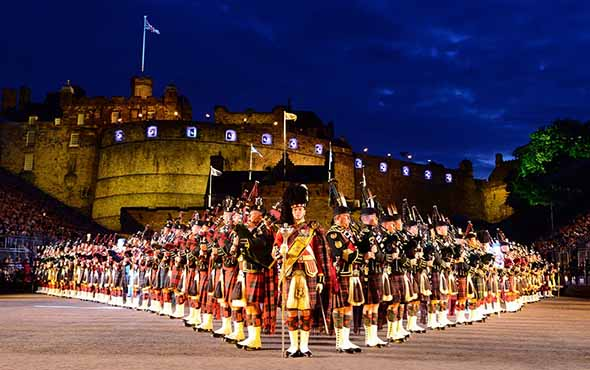 Scottish Highlands & the Edinburgh Military Tattoo