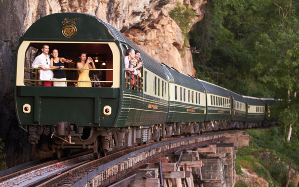 Legends of the East by Luxury Train: Bangkok to Singapore & Bali