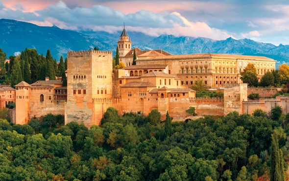 Europe Spain Granada Alhambra Palace