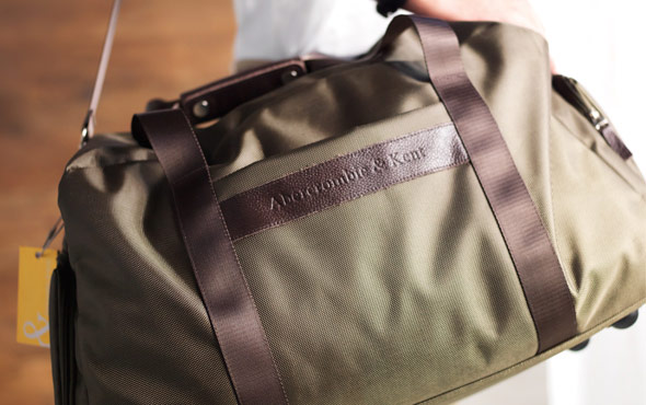 A&K Duffel - Durable, water-resistant construction