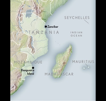 Map Of African Islands.Travel To Africa S Hidden Islands Abercrombie Kent