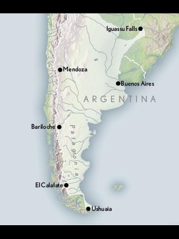 Argentina Cultural Map