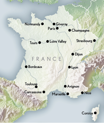 travel to france paris southern france luxury tours
