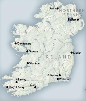 Map Of Dublin 7 Ireland.Ireland Luxury Tours Luxury Travel Ireland Abercrombie Kent
