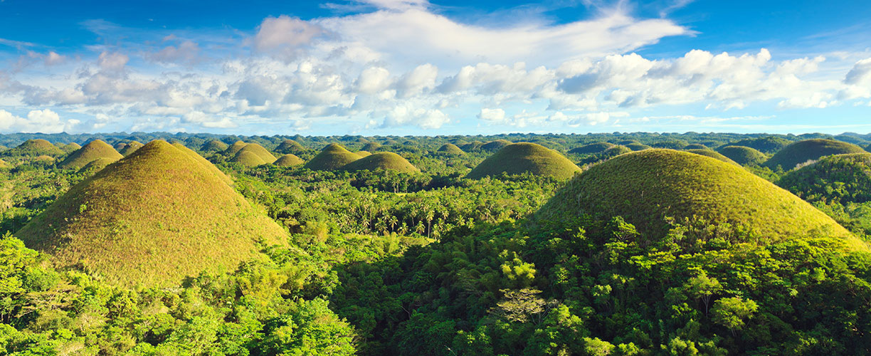 Southeast Asia Philippines Bohol Chocolate Hills