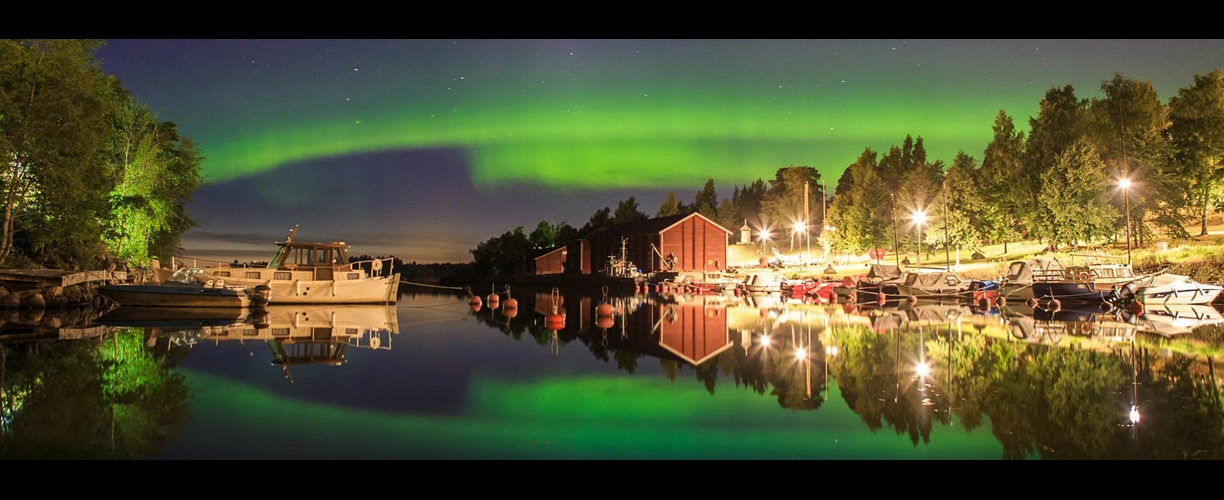 Europe Finland Northern Lights