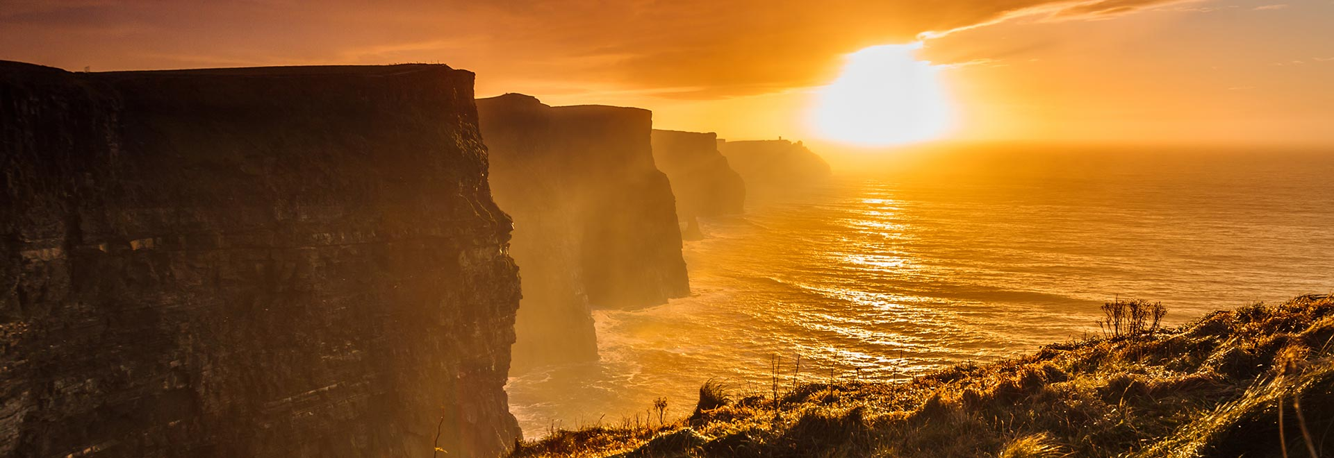 Europe Ireland Country Clare Moher Cliffs