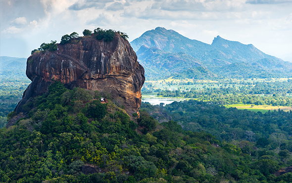 Asia Sri Lanka Sigiriya Lion Rock