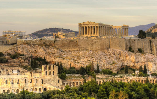 Europe Greece Athens Acropolis