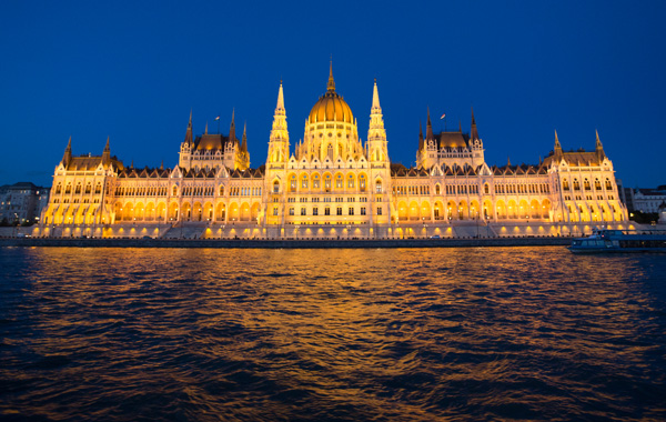 Europe Hungary Budapest Parliament Building