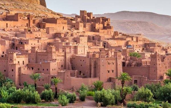 Middle East Morocco Ait Benhaddou Kasbah