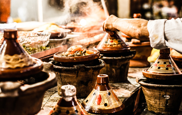 Middle East Morocco Marrakech Tagine Cooking