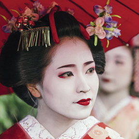 Asia-Japan-Geisha-4up