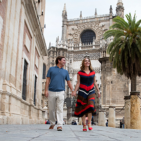 Spain Seville Couple 4up
