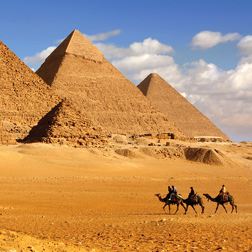 Middle East Egypt Pyramids