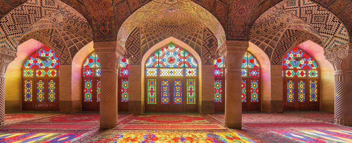 Asia Nasir Al Mulk Mosque Persia A Tapestry of Ancient and Modern Iran