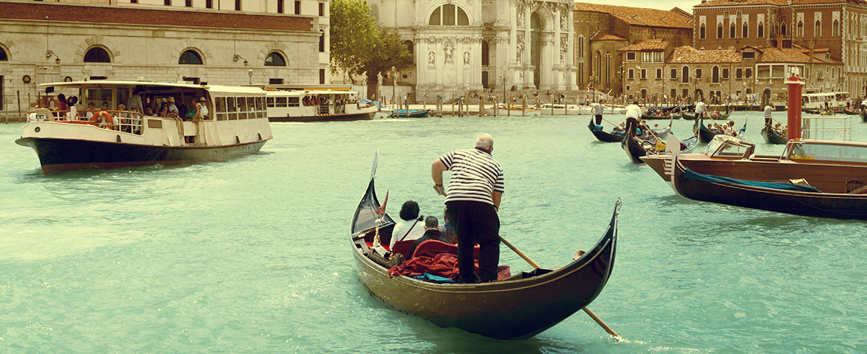 Europe Italy a Family Journey Venice Grand Canal
