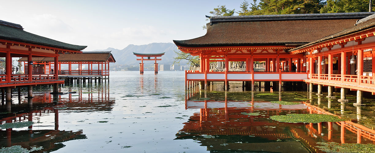 Asia Wonders of Japan Itsukushima Shrine