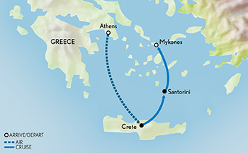 Tailor Made Greece: Jewel of the Mediterranean Map