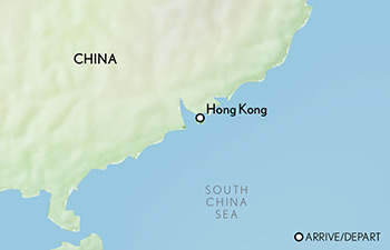 Tailor Made China: Hong Kong Map