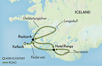 Tailor Made Iceland: Winter Landscapes Map