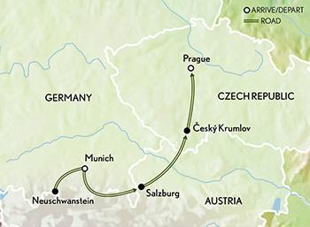 Bohemia and Bavaria Munich, Salzburg and Prague