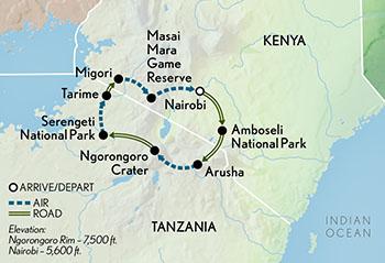 Family Kenya & Tanzania Safari | Abercrombie & Kent on kenya nairobi map, kenya africa map, kenya canada map, kenya tourist map, kenya travel maps, mali map, sri lanka map, african serengeti map, malawi map, east africa map, kenya somalia map, burundi map, kenya africa elephants, senegal map, kenya game reserve map, iran map, kenya mozambique map, mt. kilimanjaro map, hawaii kenya map, kenya islands map,
