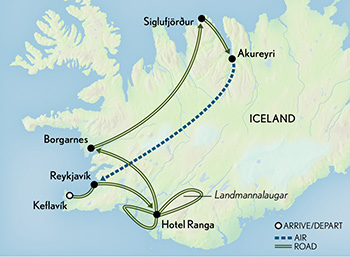 Iceland: A Family Journey Map