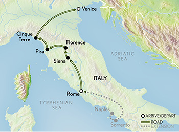 Italy: A Family Journey Map
