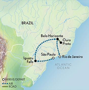 Tailor Made Brazil Iguazu Falls to Rio de Janeiro Abercrombie Kent
