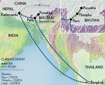 Bhutan and Nepal Heart of the Himalaya