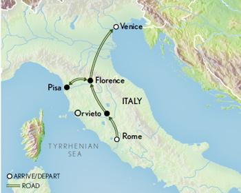italian treasures rome florence venice abercrombie kent