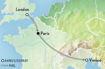London, Paris and Venice by Rail Belmond Venice SimplonOrient Express