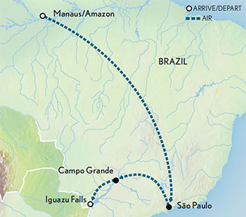 Brazil-the-Amazon-Pantanal-and-Iguaza-Falls-Map-2019
