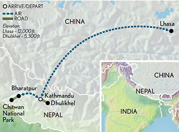 Nepal Tibet From The Jungle To The Roof Of The World