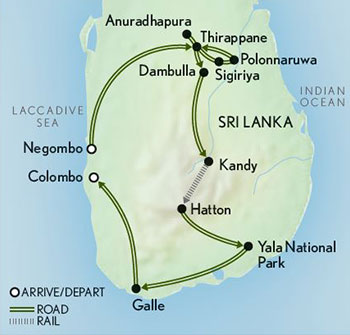 Tailor-Made-Sri-Lanka-Leopards-Tea-Country-Map-2019