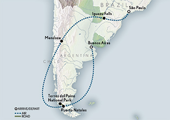 2020 Wings Argentina Chile Brazil map sm