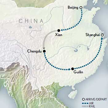 Tailor-Made-China-Beijing-to-Shanghai-Map-2020