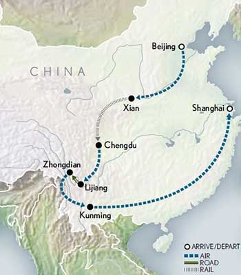 Tailor-Made-China-Wonders-of-Yunnan-Map-2020