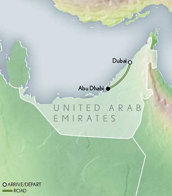 Tailor Made Emirates Sands Skyscrapers Map 2020