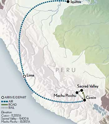 Tailor-Made-Machu-Picchu-the-Amazon-Map-2020