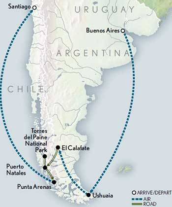 TM-Argentina-Chile-Journey-to-Patagonia-Map-2020