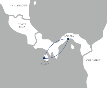 Isla Simca - Pura Vida (2019) Map