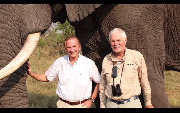 Listen to Geoffrey Kent discuss his new book Safari