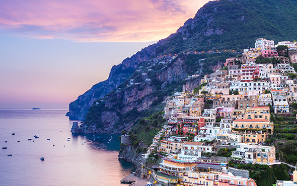 Europe Italy Amalfi Coast Solo Travel