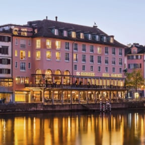 Europe Switzerland Lucerne Hotel Storchen River Cruise