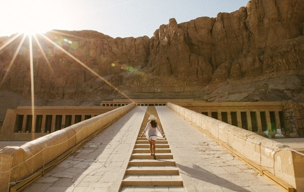Middle East Egypt Temple Hatshepsut Guest